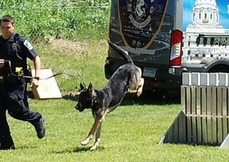 Daily St. Paul police K-9 demonstrations called off for rest of Minnesota State Fair