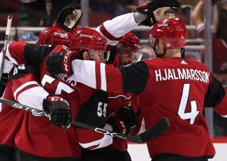 It's Arizona Coyotes day at PHT