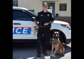 An officer is attacked by his own police dog. He had to shoot it to escape, police say